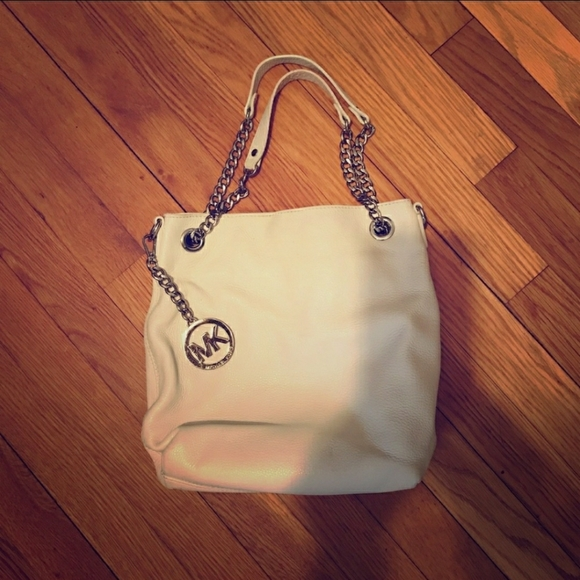 ***sold***White MK hobo bag